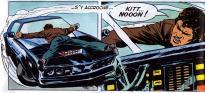 KITT a l'air d'une BMW des années 80 sur cette image