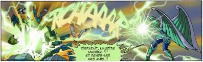 Jadina détruit le Temporhell un mois avant l'arrivé de Ceydeirom, ainsi elle annule les changements du passé fait par Ceydeirom