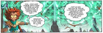 La Corne de Sygma protège le royaume de Jaguarys