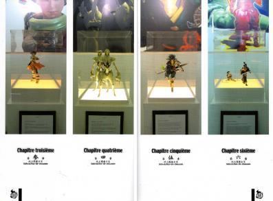 Page 68 - Chaque photo est l'illustration d'un chapitre de l'histoire. En parcourant l'expo, on recompose le récit.