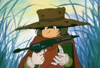 Tetsuro Hoshino a reçu son Cosmo Gun de la mère de Toshirô
