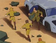 Les militaires Terriens sont lâche et fuient sans se battre. Seul Vilak reste