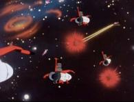 Une escadrille Sylvidre attaque le convoi de ravitaillement terrien