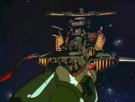 L'Arcadia n'a plus un rendu 3D comme dans l'épisode 1, mais un rendu 2D qui s'intègre mieux
