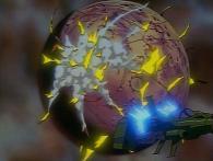 Wotan a enclenché l'autodestruction et Toshirô évite de justesse l'explosion de la planète