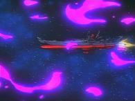Le Yamato apparaît sur un des pans lorsque les morceaux de dragon sont éparpillés dans la galaxie