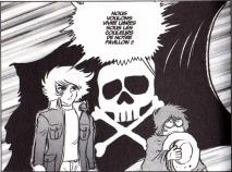 Malgré leur jeune âge Toshirô et Harlock savent ce qu'ils veulent devenir et ils n'évolueront pas d'un pouce