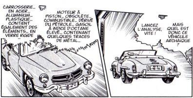 Le traducteur ne connaît pas grand chose aux voitures puisqu'il nous indique que cette Mercedes fonctionne au gasoil. Pas besoin d'être expert en mécanique pour savoir qu'en 1960 on ne fabriquait pas de coupé diesel.