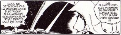 le capitaine du cargo Walkyrie 13 découvre que la station spatiale Akrucyon est déserte.