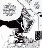 Toshirô découvre que l'Orgue Temporel est en partie organique