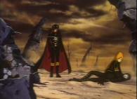 On se demande pourquoi les humanoïdes ont d'abord ravagé la planète Tokarga avec des armes conventionnelles si c'était pour la faire exploser ensuite
