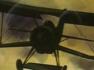 L'ancêtre d'Albator pilote un vieux coucou des années 30