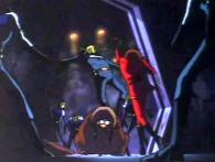 Albator intervient dans la bagarre pour défendre Alfred