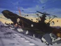 L'Atlantis décolle en détruisant une partie du spatio port