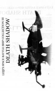 couverture de la notice du Death Shadow de Mabell dans la collection Leiji's Space ship (jouet)