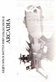 Page 1 de la notice de l'Arcadia de Mabell de la collection Leiji's Space ship