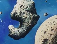 L'astéroïde contient une base secrète appelée le Repère de la Vache Grasse.