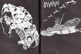 L'île aux Pirates apparaît aussi dans le Tome 1 page 196 du manga Capitaine Albator