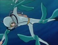 Ramis se fait attaquer par des algues qui se transforment en Sylvidres