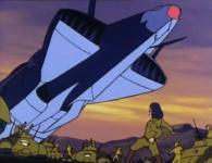 En voyant l'Atlantis le narger, Vilak comprend qu'Albator a réussi à s'en tirer.