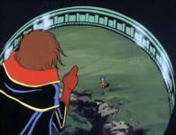 Albator dépose Stellie à son orphelinat