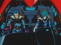 Elmaine et son second reviennent à la charge avec un chasseur stellaire