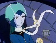 Erossa fait partie de l'escadron qui attaque l'Atlantis