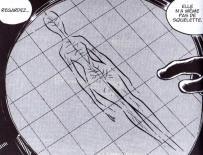 Le scanner révèle que le corps de la Sylvidre n'a pas de squelette et qu'il est végétal