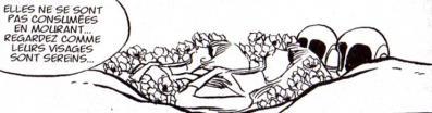 Le corps des sylvidres tuées par Yattaran ne s'est pas enflammé