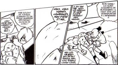 Albator rencontre les deux fils de Zoru