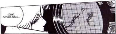 Les sylvidres jouent avec une balle à la surface de l'astéroïde