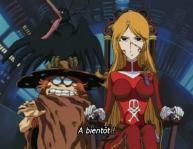 Toshiro et Emeraldas (Cosmo Warrior Zero)