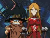 Toshiro et Emeraldas (Cosmowarrior Zero)