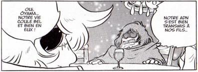 Le Dr Ôyama et Great Harlock sont très liés tout comme leur fils respectifs Albator et Toshirô