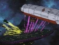 Dans Cosmowarrior Zero, le Queen Emerladas participe aux combats, mais son rôle est mineur.