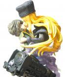 Figurine : Maetel finira par éprouver un attachement pour Tetsuro qui va passer de l''amitié à un sentiment d'amour