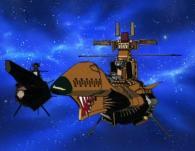 Deux vaisseaux pirates sont en train d'attaquer le Karyu