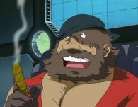 Warius hésite à tirer car le pirate et son équipage sont humains