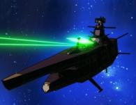 La vaisseau pirate n'hésite pas à tirer sur le Karyu