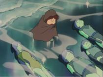 Maetel va transformer ce voyage en rite initiatique pour Tetsuro pour lui apprendre à apprécier la valeur de son corps organique qu''il méprise tant.