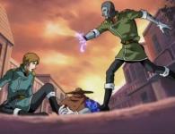 Ishikura est sauvé de justesse par un humanoïde