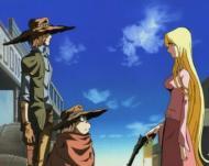 Albator et Toshirô dans Gun Frontier (2002)