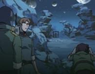 Toshirô est remis sur sa potence avec une bombe sur le corps