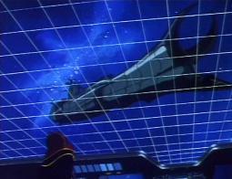 En voyant son ancien vaisseau Albator est momentanément désarçonné (Death Sahdow)