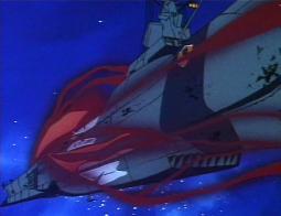 L'Ombre de la Mort (Death Shadow) ne réussira pas à prendre le dessus sur L'Atlantis (Arcadia)