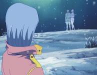 Marina voit ses parents apparaître devant elle