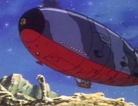 Toshirô réussit finalement à réparer le Queen Emeradas qui finit par décoller