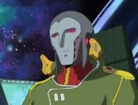 L'officier navigateur arrive à diriger le Karyu à travers le champ d'astéroïdes