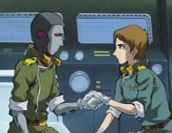 L'officier navigateur apprécie le changement d'attitude d'Ishikura