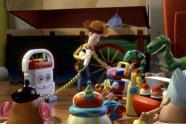 Woody est admiré par tous les jouets